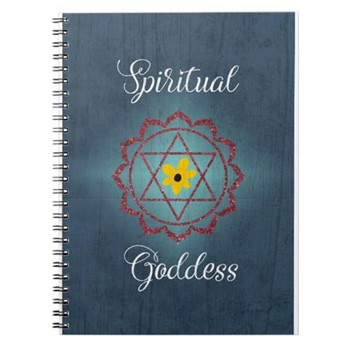 chakra symbol notebook
