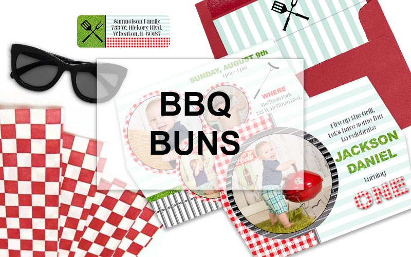 gingham barbecue party