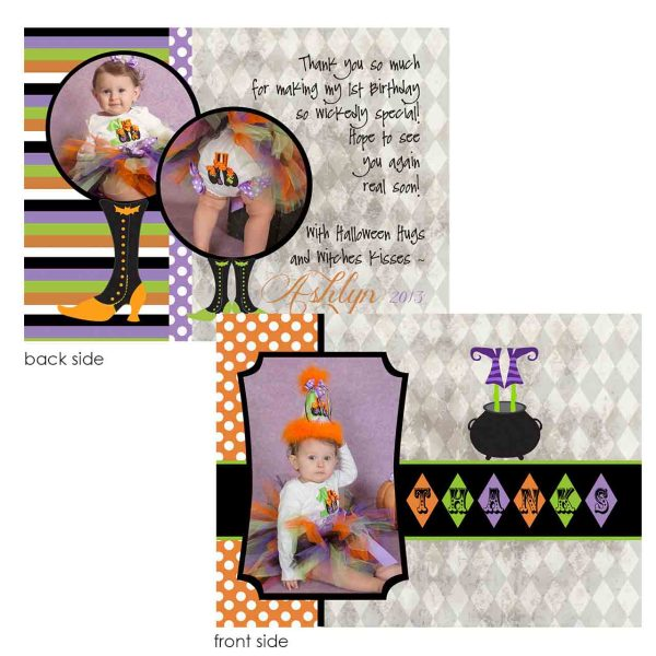 witch thank you card