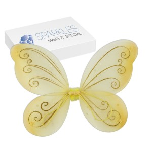 gold butterfly wings