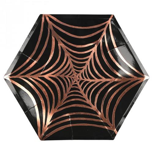 large cobweb plate
