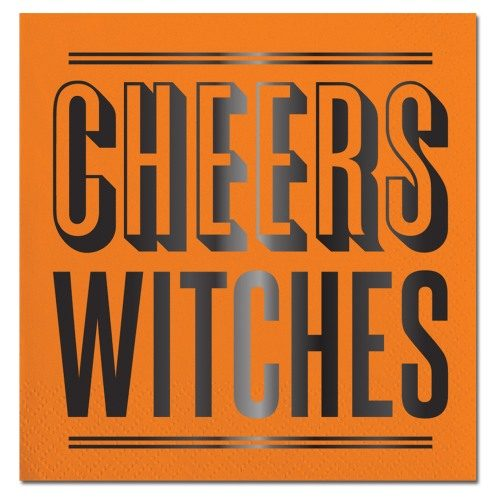 cheers witches beverage napkin