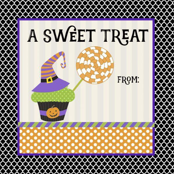 sweet treat sticker