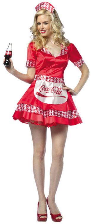 coca cola costume