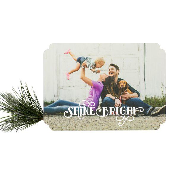 shine bright foil card