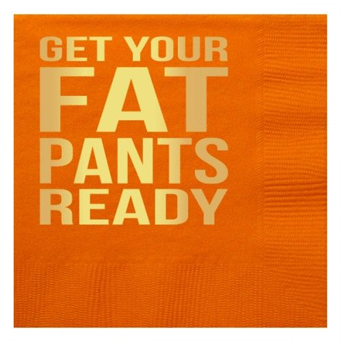 Fat pants ready napkin