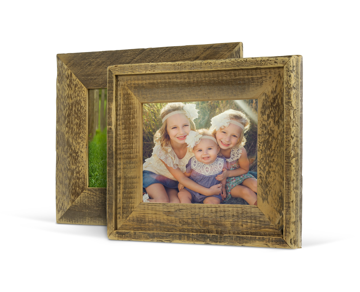 Barnwood Frames Reclaimed Wood In A Variety Of Sizes