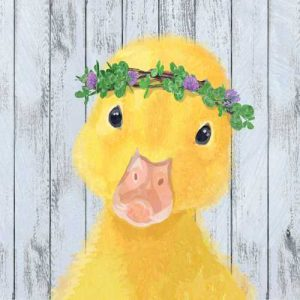 chick duck napkin