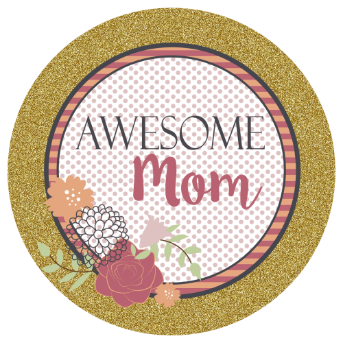 mothers day 3x3 sticker
