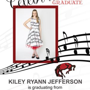 Musical Notes Graduation