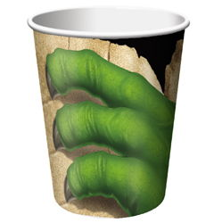 dinosaur paper cup