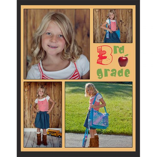 Back To School Photo Collage