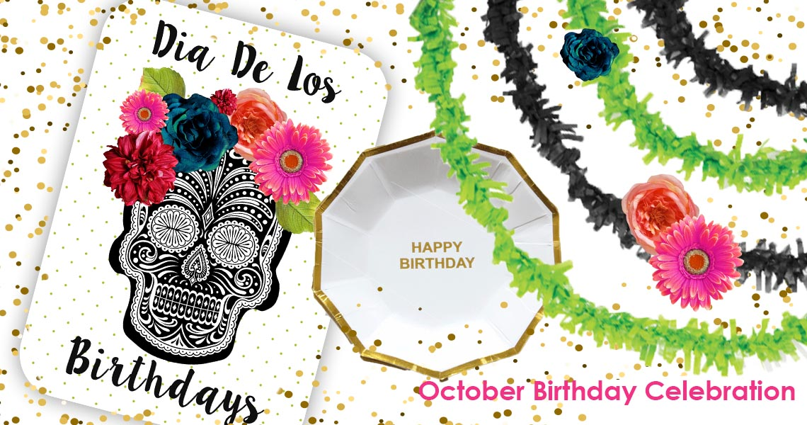 sugar skull birthday