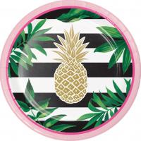 PineappleDessertPlates