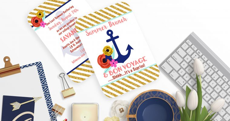 anchor nautical brunch