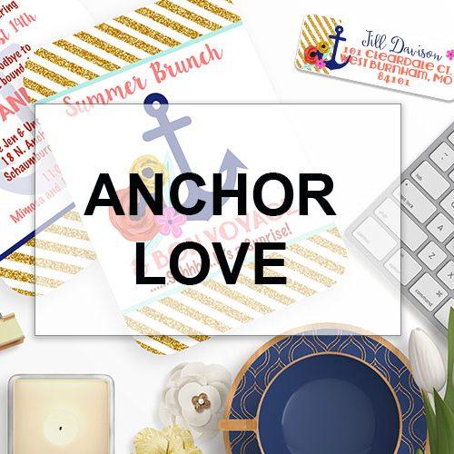 Nautical Anchor Love
