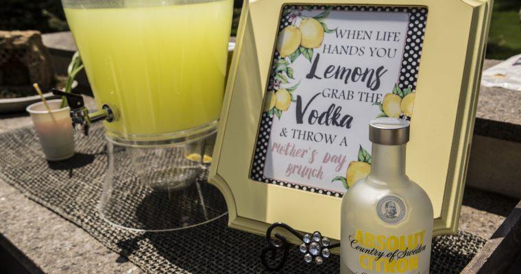 mothers day lemon theme