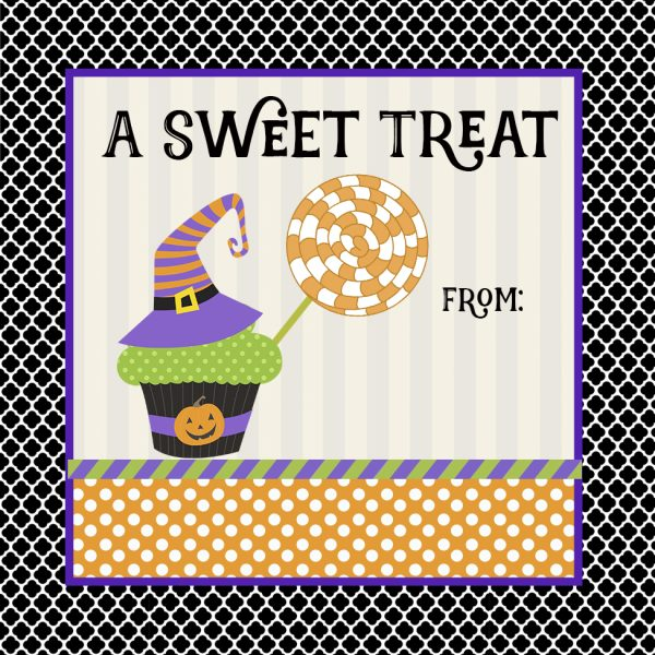 sweet treat sticker