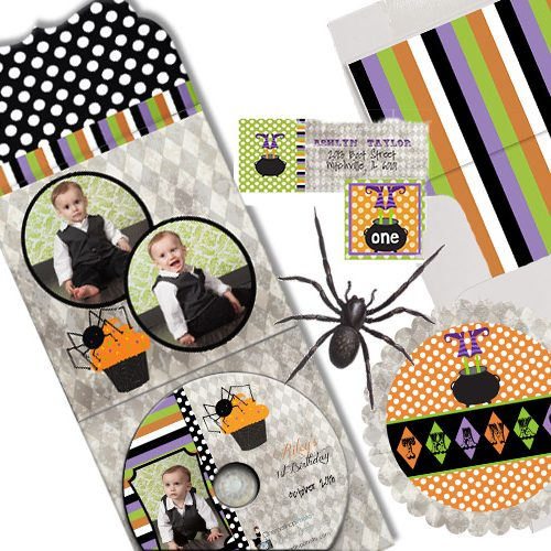 Halloween Invites Cards & Stickers