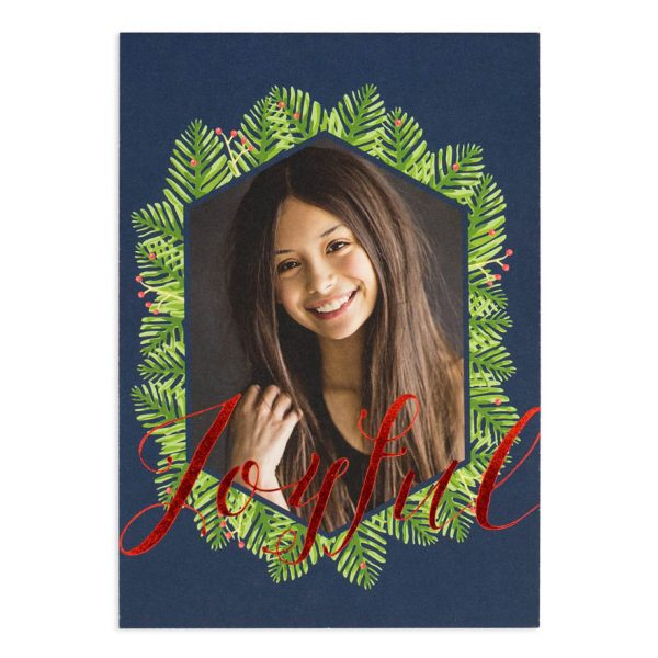 Joyful Foil Card