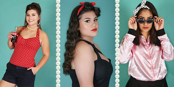 retro pinup girls
