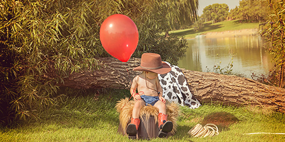 cowboy theme mini photo session