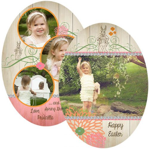 peter rabbit easter greeting card