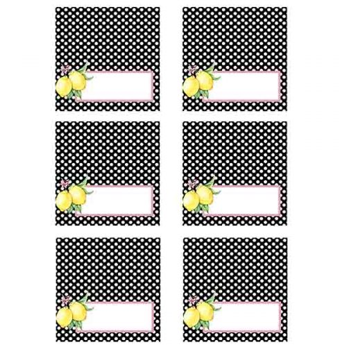 lemon food tags