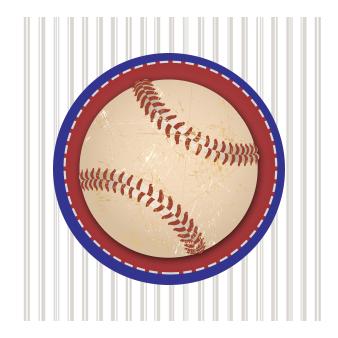 baseball envelope seal