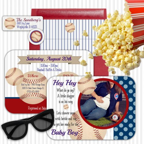 Baseball Party Ideas and Invitations