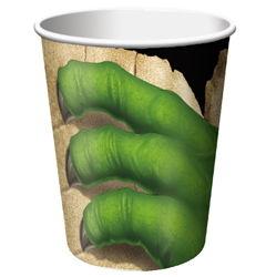 dinosaur paper cup