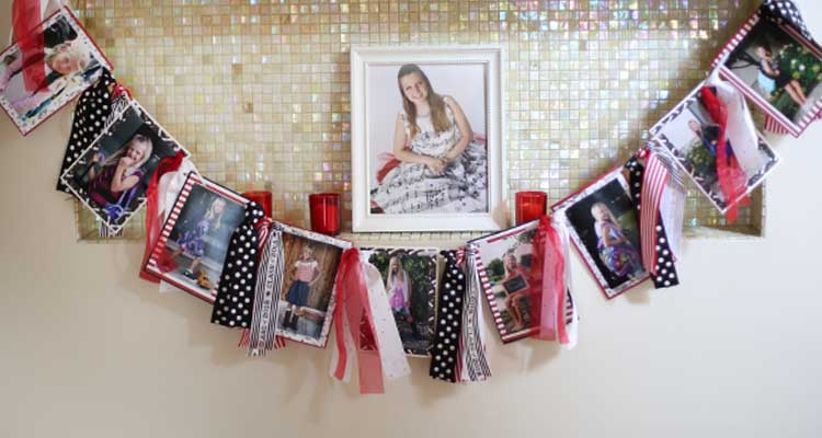 Custom Photo Ribbon Banner