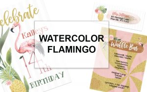 flamingo party theme