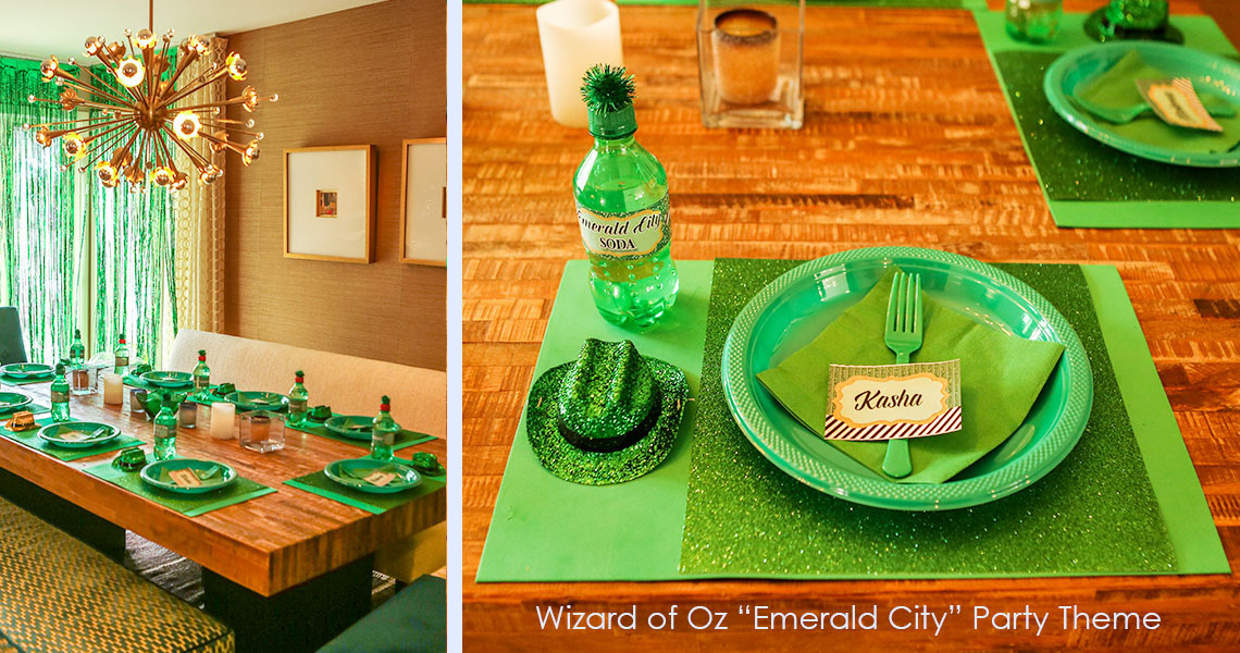 Wizard of Oz Party Theme