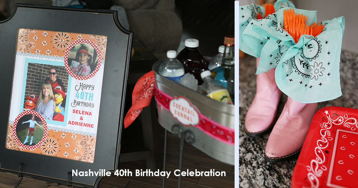 Nashville 40th birthday