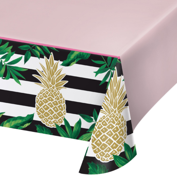 Gold Pineapple TableCloth