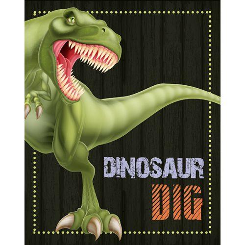 dinosaur dig sign