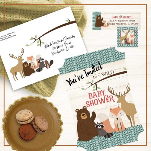 Woodland Bunch Baby Shower