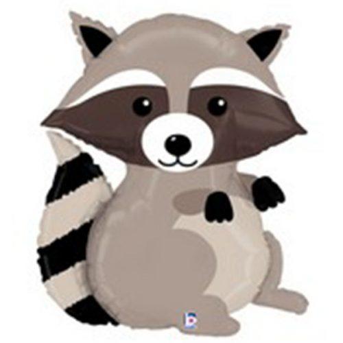 Raccoon mylar balloon