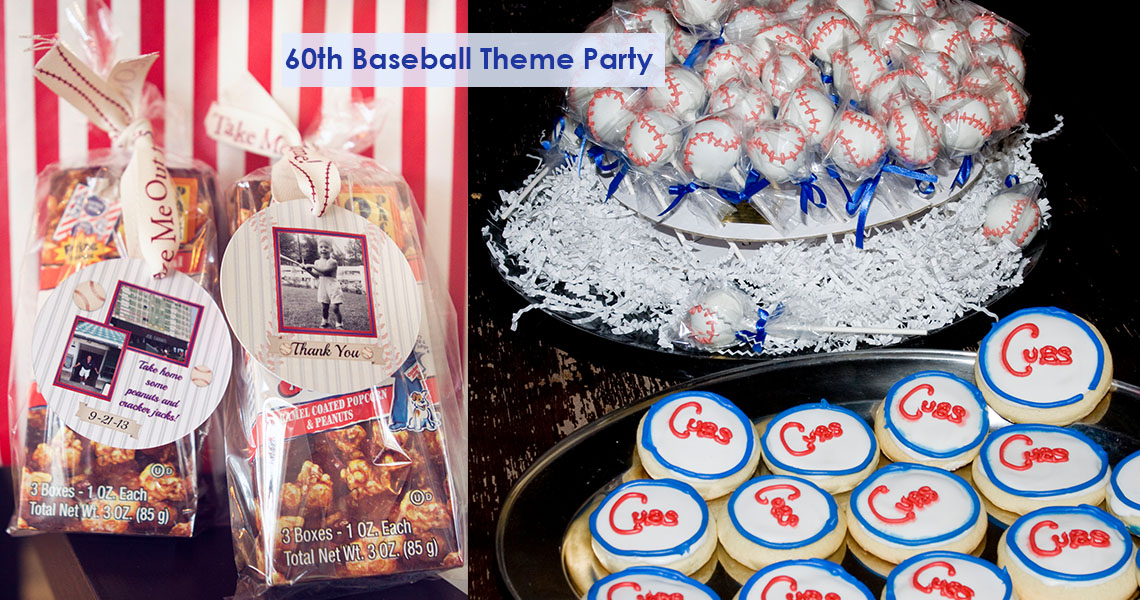 Baseball birthday theme