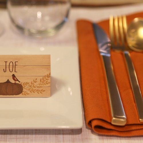 Thanksgiving Tags and Place Cards