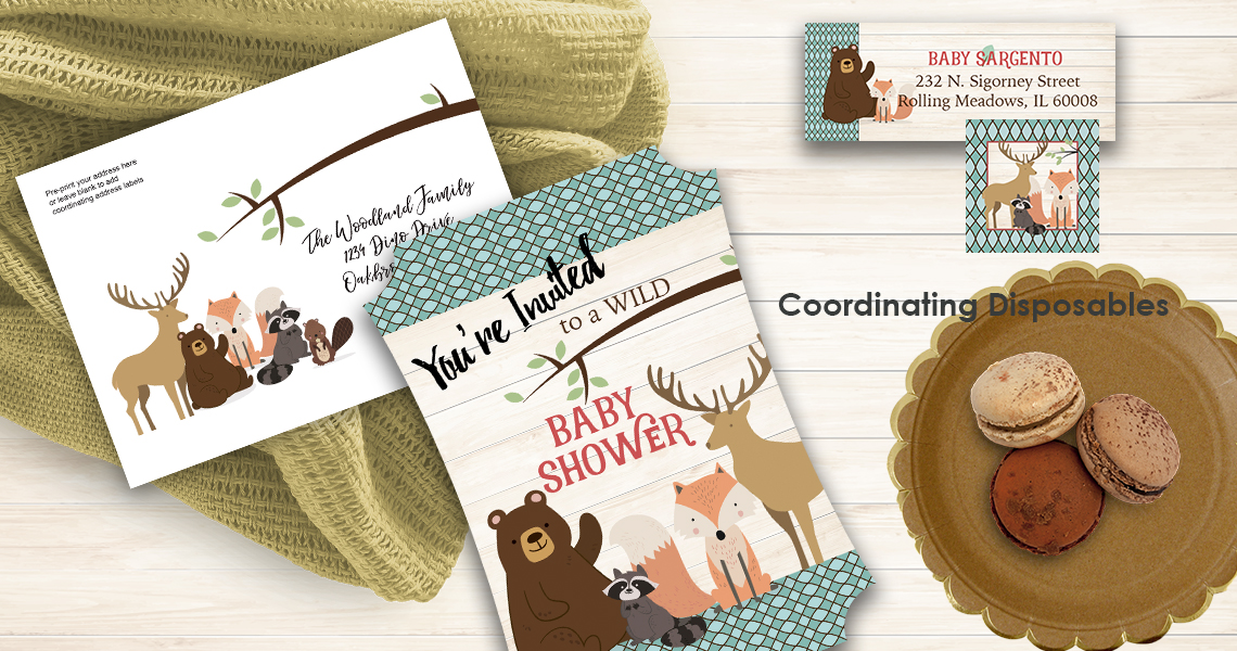 Baby Woodland Animal Baby SHower