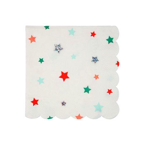 Festive Stars Napkin