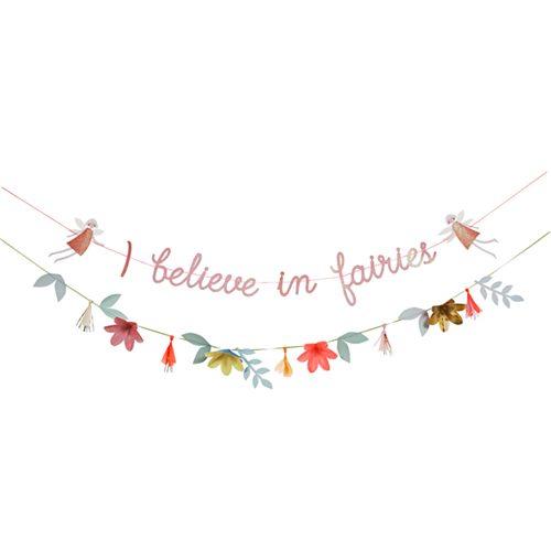 Fairy Garland banner