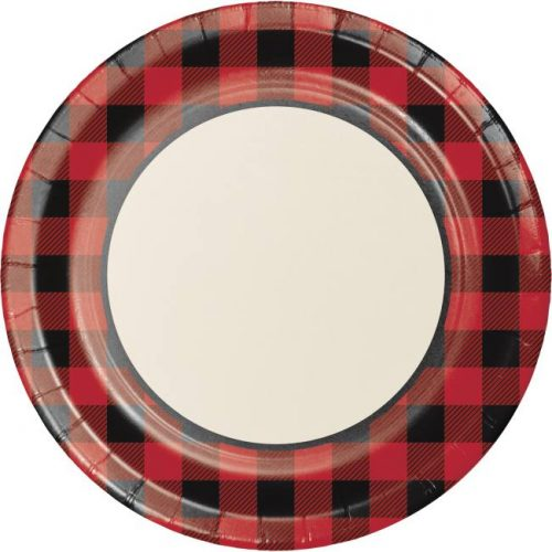 """10"""" Roundl buffalo check plate"""