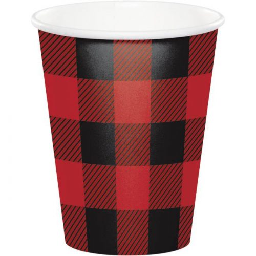 Buffalo Plaid 9oz Hot/Cold Cups