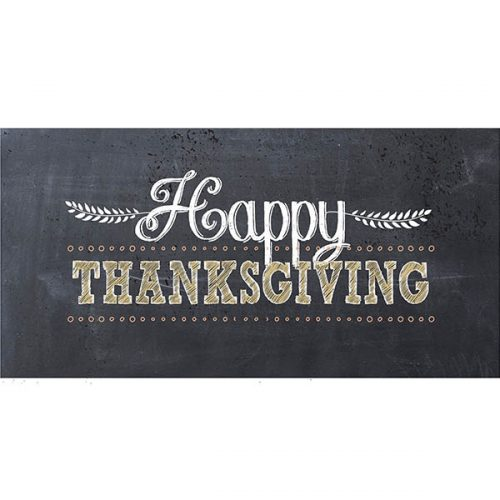 Happy Thanksgiving Welcome Sign