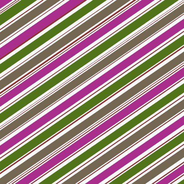 Berry colored stripe design self-stick envelope liner.