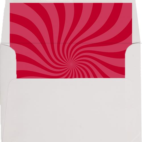 dr seuss red swirl envelope liner