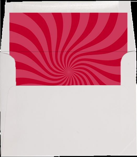 dr seuss red swirl envelope liner